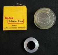 VINTAGE  Kodak Retaining Ring Series 5 #21 with Original Box & Storage Case