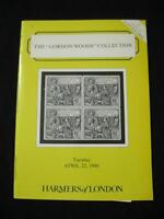 HARMERS AUCTION CATALOGUE 1986 'GORDON WOODS' COLLECTION