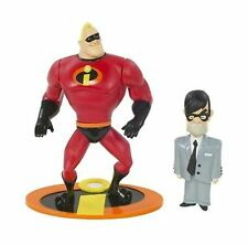 Disney Pixar Incredibles Super Strength Mr. Incredible with Mr. Humph Figures