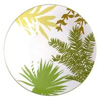 Epoch Collections White Green Trees Dunewood E953 Indonesia Dinner Plate