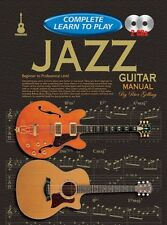 COMPLETE LEARN TO PLAY Jazz Guitar Manual + CDs*