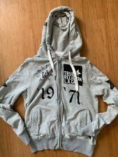 True Religion Herren Pullover Designer Sweatshirt L Sweater Kapuzen Jacke