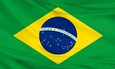 Large Brazil Brazilian Flag 5ft x 3ft / 1.5mx90cm Polyester Fabric Football 5x3