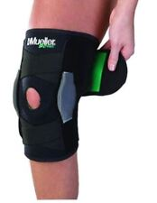 Mueller USA Green Adjustable Hinged Knee Brace Support Black