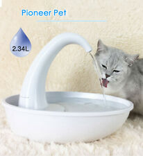 PIONEER PET Automatic Feeding Water Flowing Fountain Cat Dog Drinking Dispenser