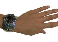 Ottoman Style Cuff Bracelet Harem Sultan High Quality Fashion Jewelry Black