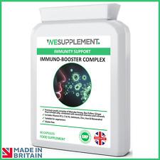 Immune System Booster Capsules - Vitamin C & D3, Zinc, Selenium - Immune Support