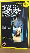 Pianto funebre per una bionda - Brett Halliday - Garzanti  3001