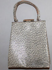 Vintage Snake Leather Woman'S Purse Handbag