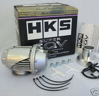 Universal HKS BOV SUPER SQV SSQV II Car Turbo Blow Off Valve with Adapter Silver