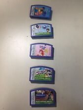 Lot 5 Leapster Leap Frog Game Cartridge Learning Game System Nemo Little Mermaid