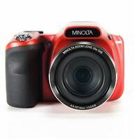 Minolta MN35Z 20MP Digital Camera Wi-FI,Zoom 35x Optical,1080p HD, SD 8GB