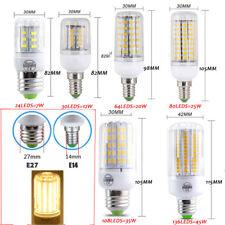 E27 E14 7W 9W 12W 15W 20W 25W 5730 SMD LED Corn Bulb Lamp Light Bright 110/220V