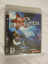 Rock Revolution PS3 (PlayStation 3) Brand New, Sealed!