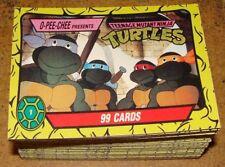 1989 O-Pee-Chee TEENAGE MUTANT NINJA TURTLES Complete Card Set (88)