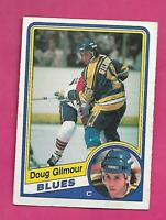 1984-85 OPC # 185 BLUES DOUG GILMOUR  ROOKIE GOOD CARD (INV# D6279)
