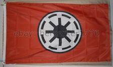Star Wars Galactic Republic Red 3' x 5' Flag Banner Darth Vader USA Seller ship