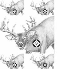 Deer Pistol & Rifle Gun Paper Shooting Range Animal Targets 23x29  Qty-20 count