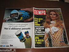 RIVISTA TEMPO 1969/35=CLAUDINE LANGE=CAPRI=IL SURF=IRLANDA= CASSIN JIRISHANCA=