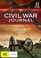 Civil War Journal - The Conflict Begins & The Commanders (DVD, 2010, 4-Disc Set)