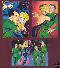 Bill Ward 50 Years of Torchy Comic Images ARMY subset chase cards set of 3