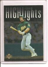 "1997 Upper Deck #320 MARK McGWIRE ""Season Highlights"" Baseball Card"