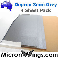Depron Foam Pack - 3mm Grey (box of four sheets)