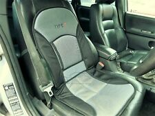 BLACK / GREY, Padded Seat Cushion for Car Driver Seat, Van, Lorry, Boat, Office