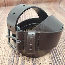 Diesel Men's Belt Paldo Brown Size 95 38 Accessories Leather Extra Tough X06832