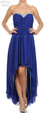 SHORT N' LONG BRIDESMAIDS EVENING GOWNS FORMAL PROM DANCES PARTY SWEET 16 DRESS