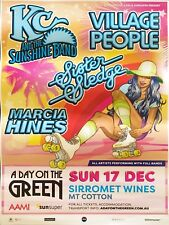 KC AND THE SUNSHINE BAND VILLAGE PEOPLE DAY ON THE GREEN 2017 TOUR POSTER A2