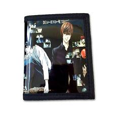 Death Note PU Leather Wallet / Light & L (DEN-B2C)