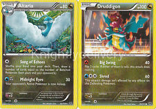 Pokemon Drasna Complete Deck - Dragalge - Druddigon - Aaltaria - NM - 60 Cards