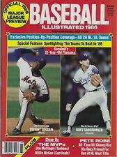 1986 BASEBALL ILLUSTRATED - BASEBALL PREVIEW ISSUE; DOC GOODEN