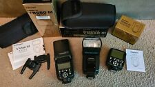 Yongnuo YN560III Manual Speedlite Flash Kit Lot w 560TX Transmitter for Canon VG