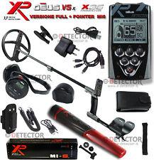 """XP Deus Metal Detector Full Piastra X35 11""""(28cm) R.C + Cuffie WS4+Pointer Mi-6"""