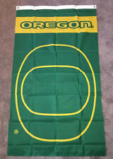 NEW! Green & Yellow OREGON DUCKS logo 3'x5' large Banner Flag CHRISTMAS GIFT