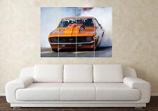 Grande VOITURE FORD DODGE glisser Muscle Voiture Sport Nitro mur Poster Art Imprimé Image