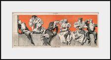 HEINRICH KLEY, Drinkers, pen & Ink Jugend Illustration NEW Fine Art Giclee Print
