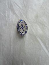 Vintage 1960s Scottish National Blood Transfusion Service Metal Pin Badge