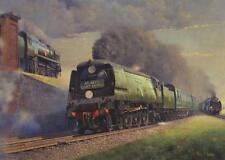34051 Winston Churchill Southern Railway Engine Steam Train Birthday Card