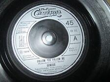 Genesis – Follow You Follow Me Charisma Records CB 309 UK Vinyl 7inch Single