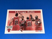1992-93 Hoops Chicago Bulls Basketball Card #269. Michael Jordan. Set Break.