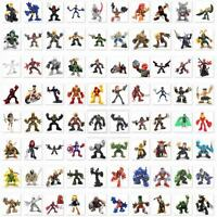 Random 10 Marvel Super Hero Squad Figure Captain America Spider-man X-men M287X2