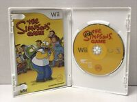 The Simpsons Game (Nintendo Wii, 2007) Complete Tested Working