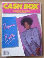 1987 CASHBOX MUSIC MAGAZINE FEATURING REGINA BELLE