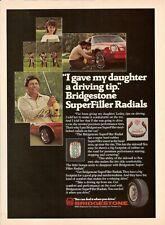 1982 Bridgestone Tires Vintage Magazine Ad   Lee Trevino