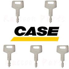 5pcs Case Mini Excavator Ignition Keys Takeuchi Gehl Mustang New Holland