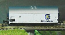 FLEISCHMANN 8328   LOWENBRAU refrigerated bier wagon    N Gauge   (3)