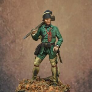 British Army Soldier Roger's Ranger Painted Miniature Pre-Sale | Art